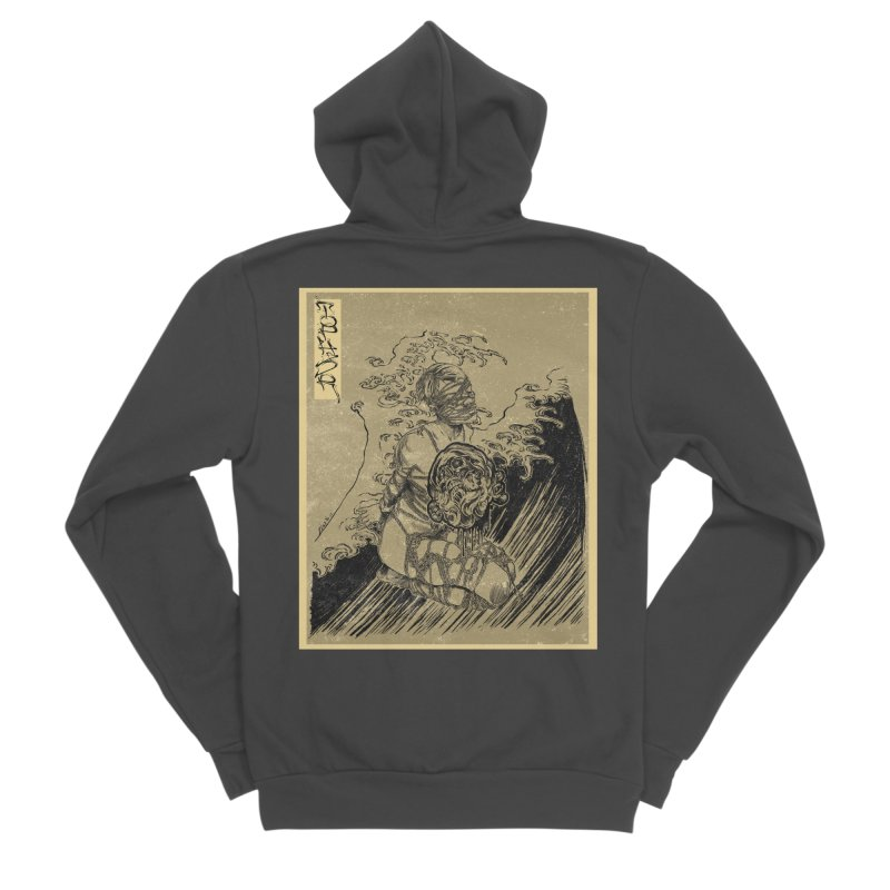 topher edo period kinbaku Women's Sponge Fleece Zip-Up Hoody by FredRx's Artist Shop