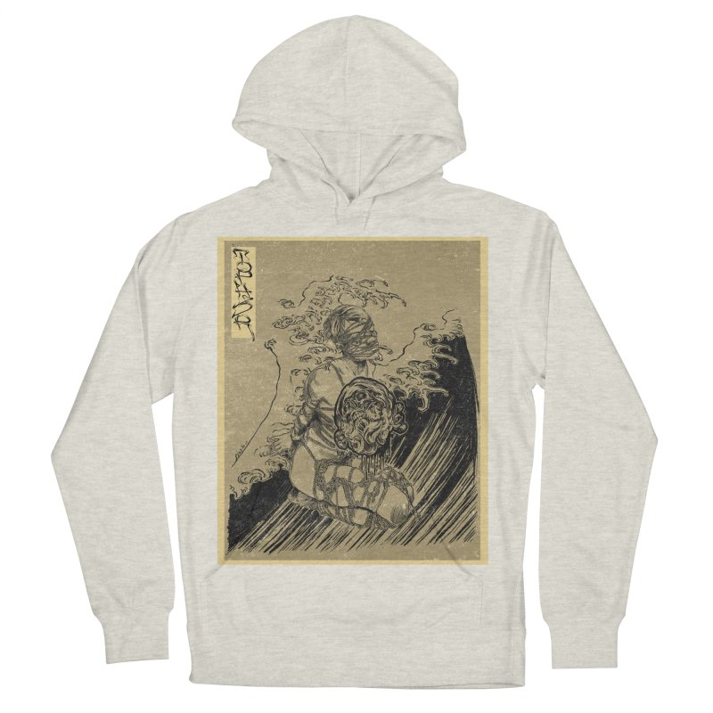 topher edo period kinbaku Women's French Terry Pullover Hoody by FredRx's Artist Shop