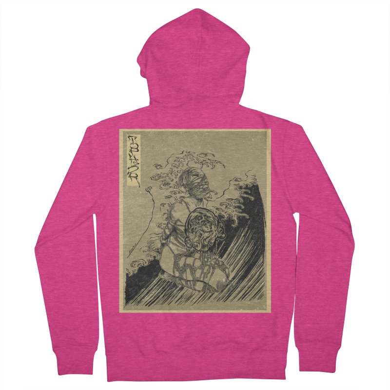 topher edo period kinbaku Women's French Terry Zip-Up Hoody by FredRx's Artist Shop