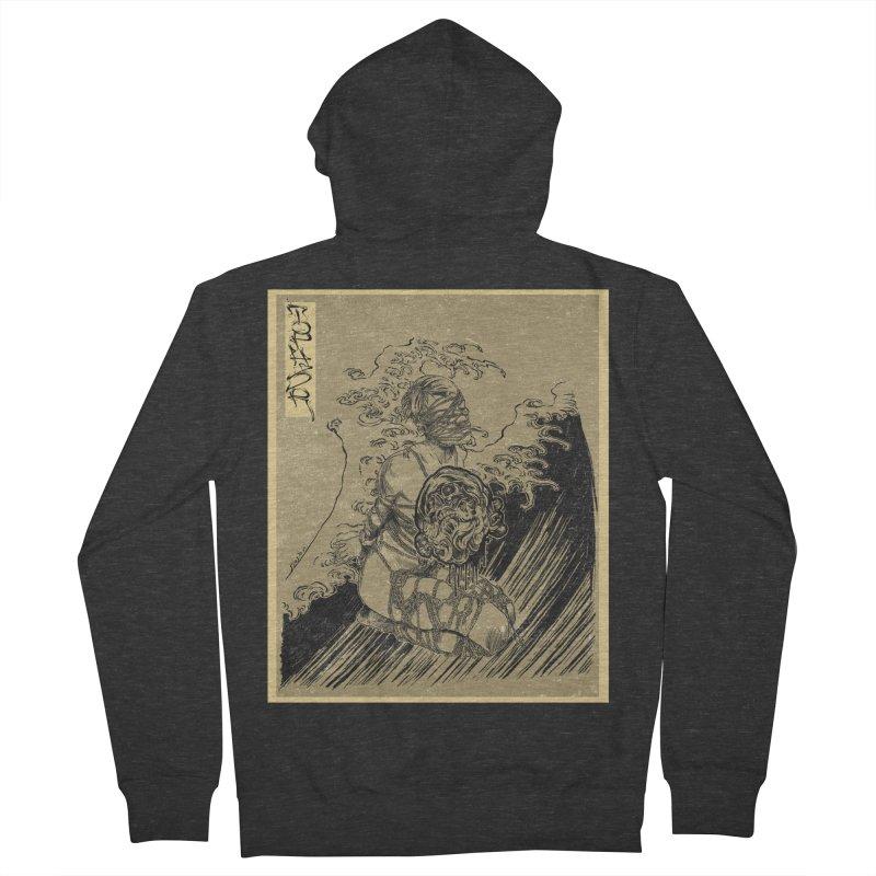 topher edo period kinbaku Men's Zip-Up Hoody by FredRx's Artist Shop