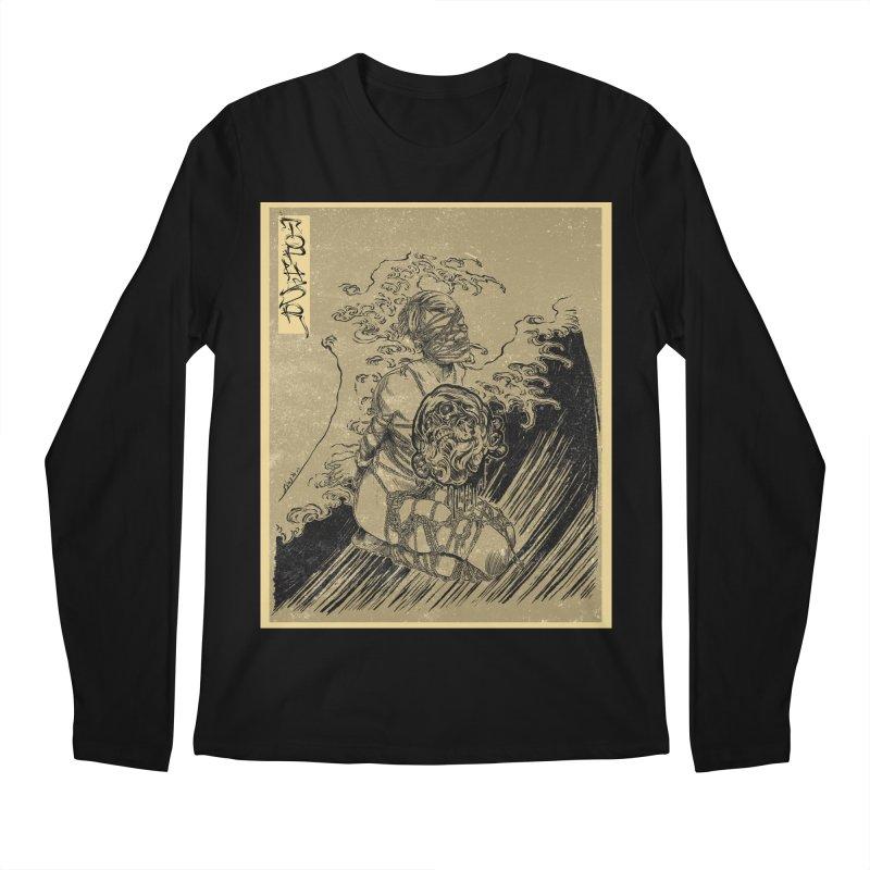 topher edo period kinbaku Men's Longsleeve T-Shirt by FredRx's Artist Shop