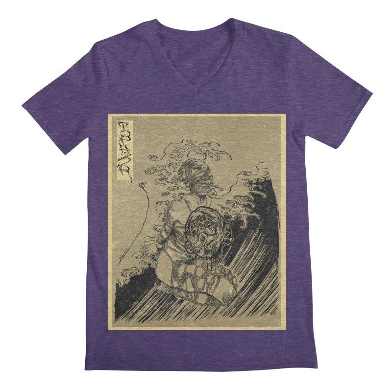 topher edo period kinbaku Men's Regular V-Neck by FredRx's Artist Shop