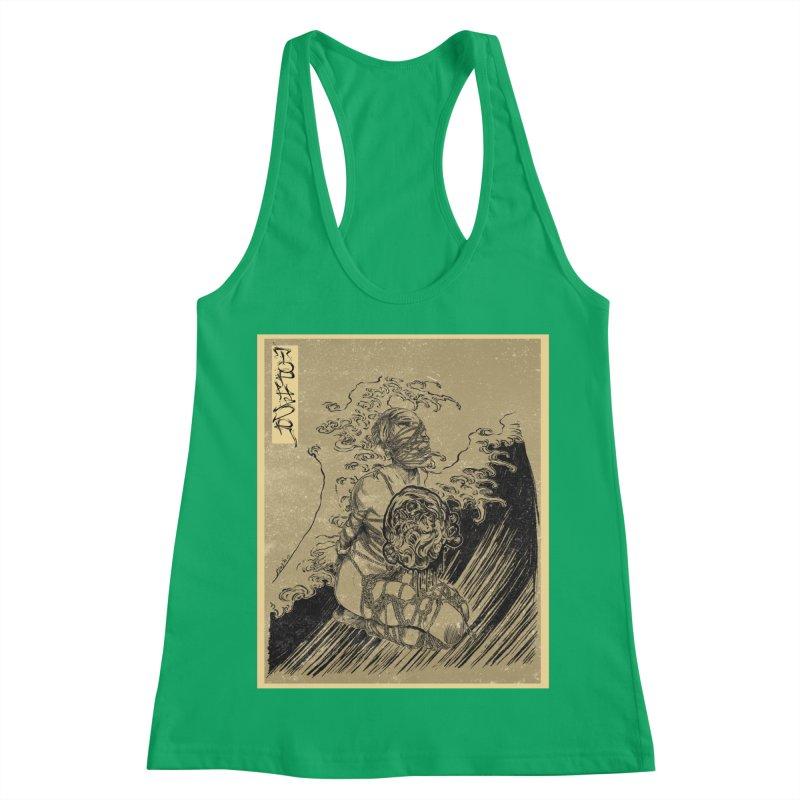 topher edo period kinbaku Women's Racerback Tank by FredRx's Artist Shop