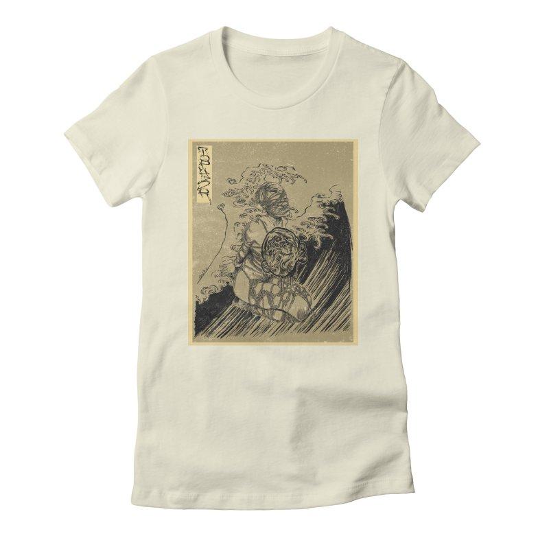 topher edo period kinbaku Women's Fitted T-Shirt by FredRx's Artist Shop