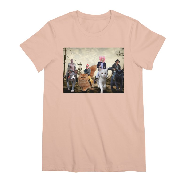 four catfreds of the apocalypse Women's Premium T-Shirt by FredRx's Artist Shop