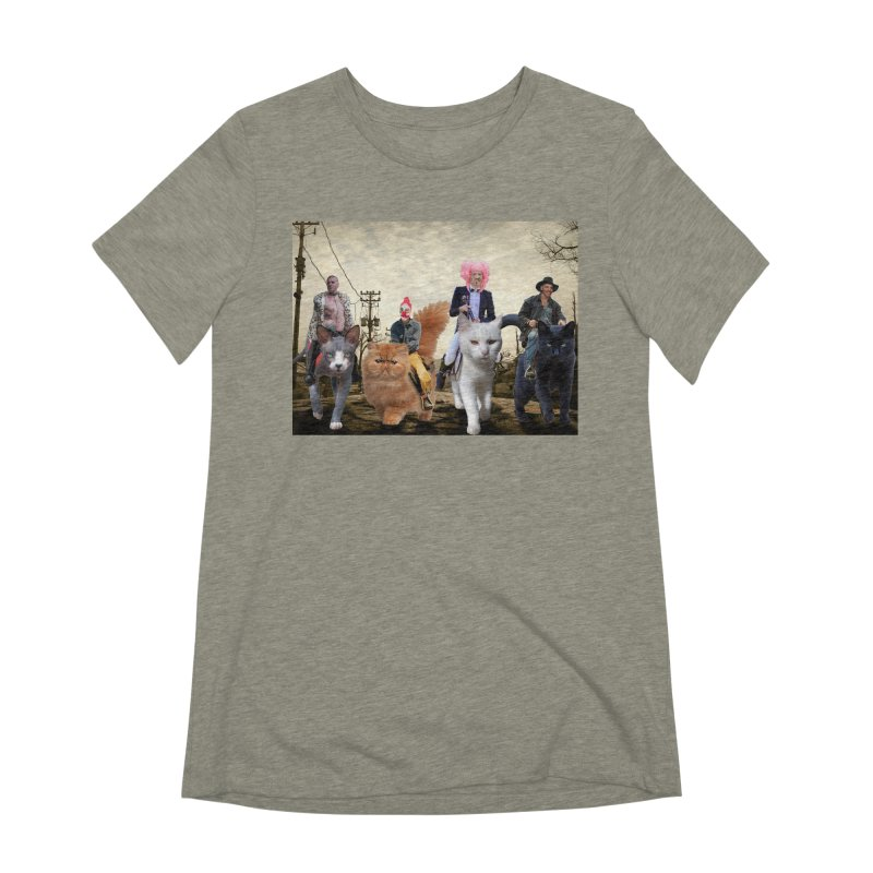 four catfreds of the apocalypse Women's Extra Soft T-Shirt by FredRx's Artist Shop