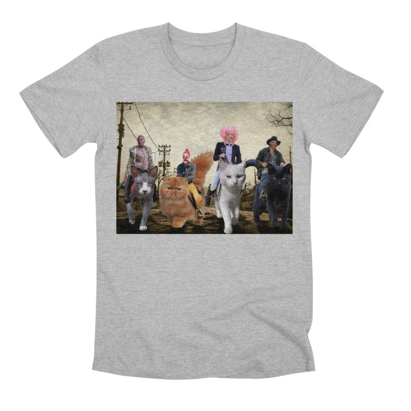 four catfreds of the apocalypse Men's Premium T-Shirt by FredRx's Artist Shop