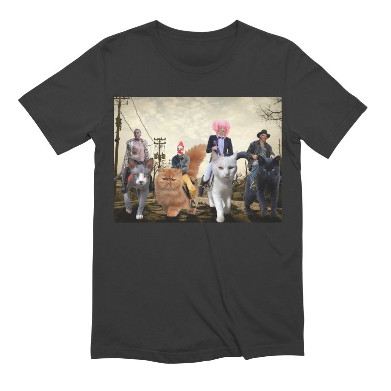 four catfreds of the apocalypse Men's Extra Soft T-Shirt by FredRx's Artist Shop