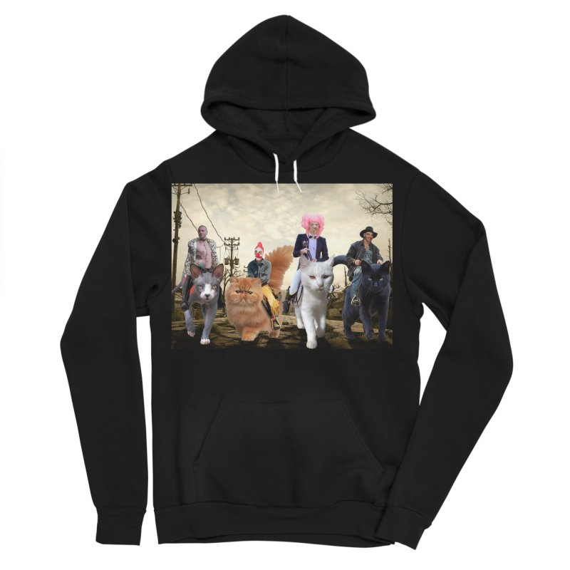 four catfreds of the apocalypse Men's Pullover Hoody by FredRx's Artist Shop