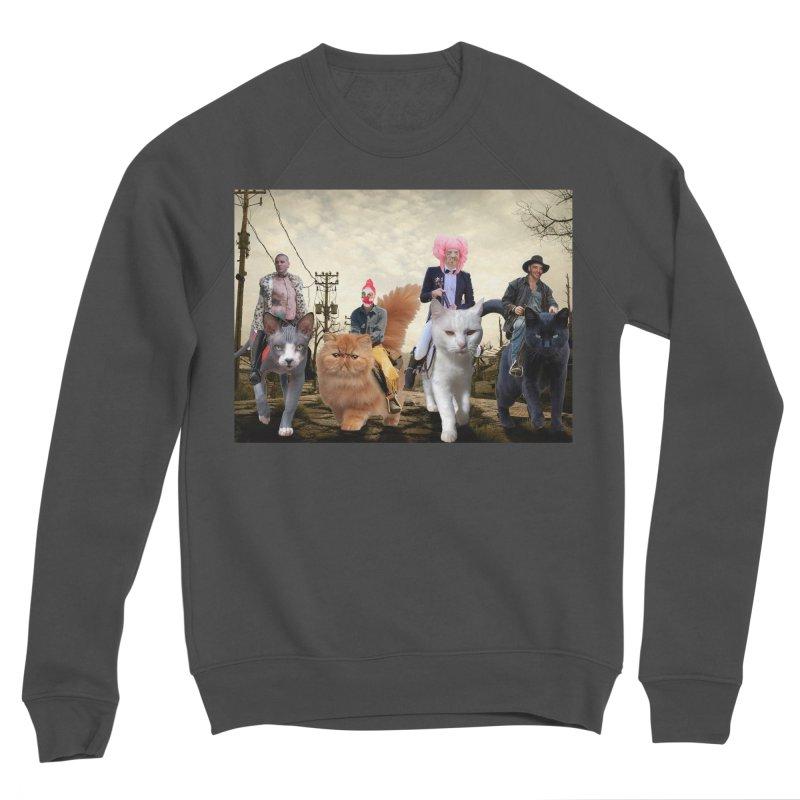four catfreds of the apocalypse Women's Sponge Fleece Sweatshirt by FredRx's Artist Shop
