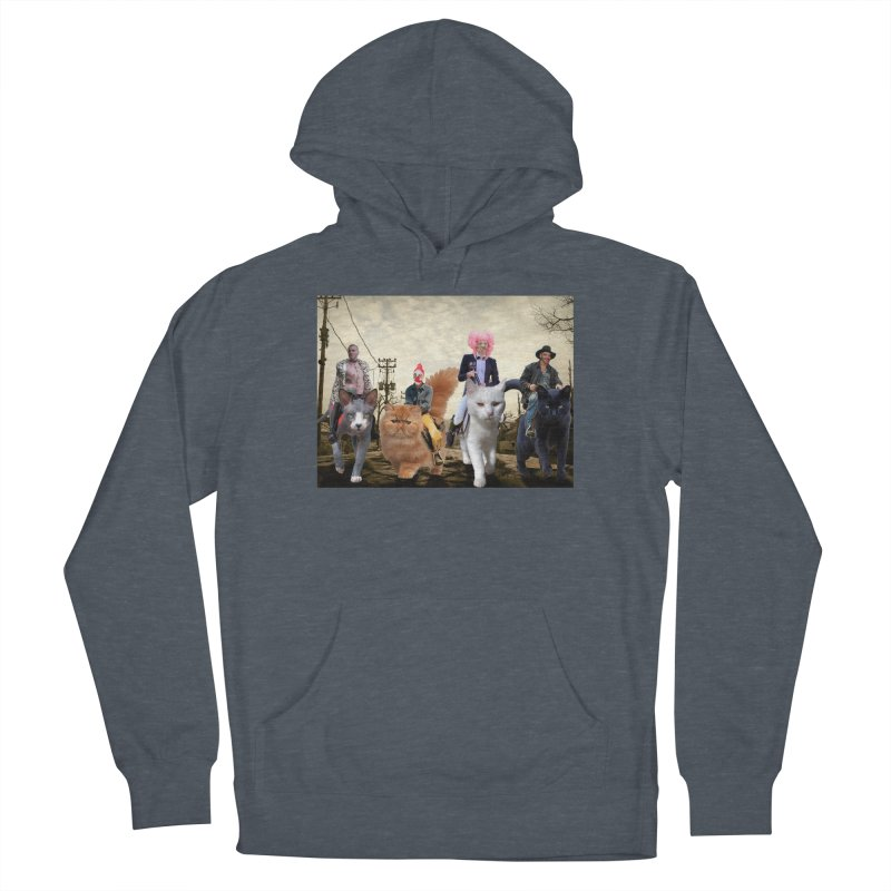 four catfreds of the apocalypse Women's French Terry Pullover Hoody by FredRx's Artist Shop
