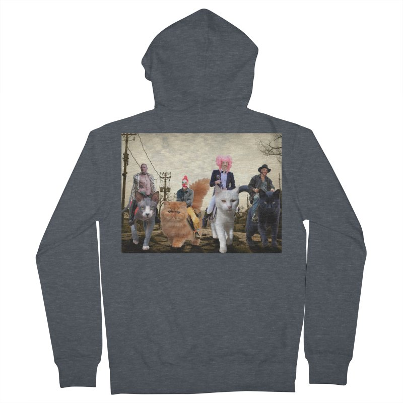 four catfreds of the apocalypse Women's Zip-Up Hoody by FredRx's Artist Shop