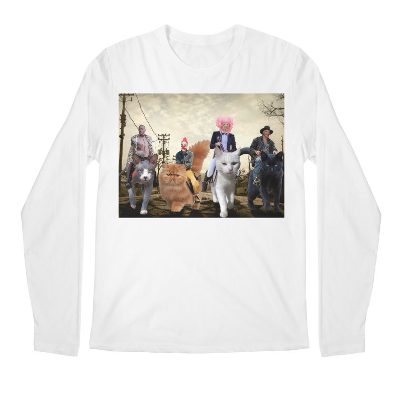 four catfreds of the apocalypse Men's Longsleeve T-Shirt by FredRx's Artist Shop