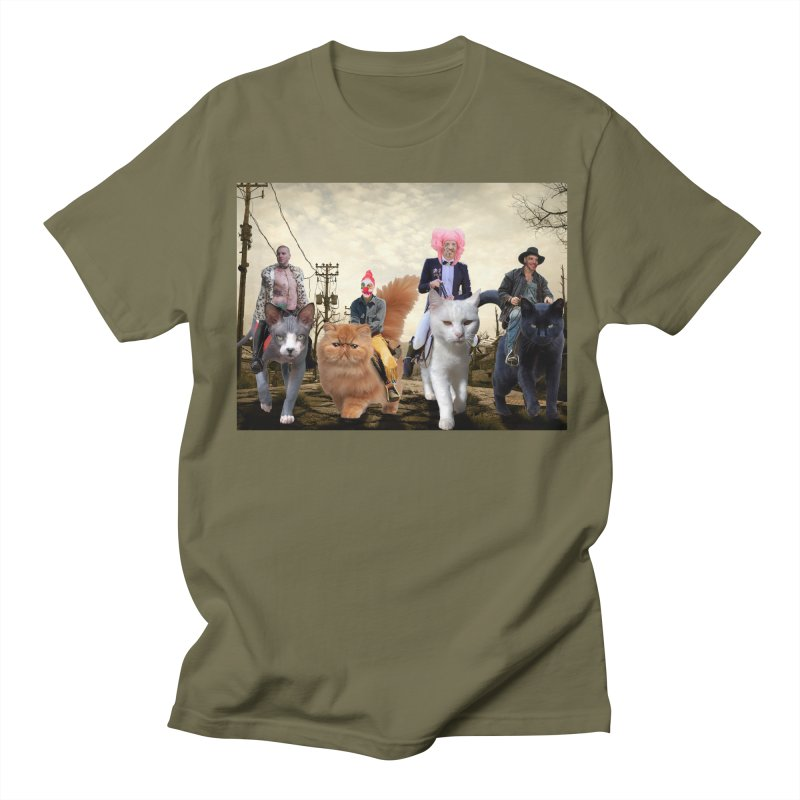four catfreds of the apocalypse Men's T-Shirt by FredRx's Artist Shop