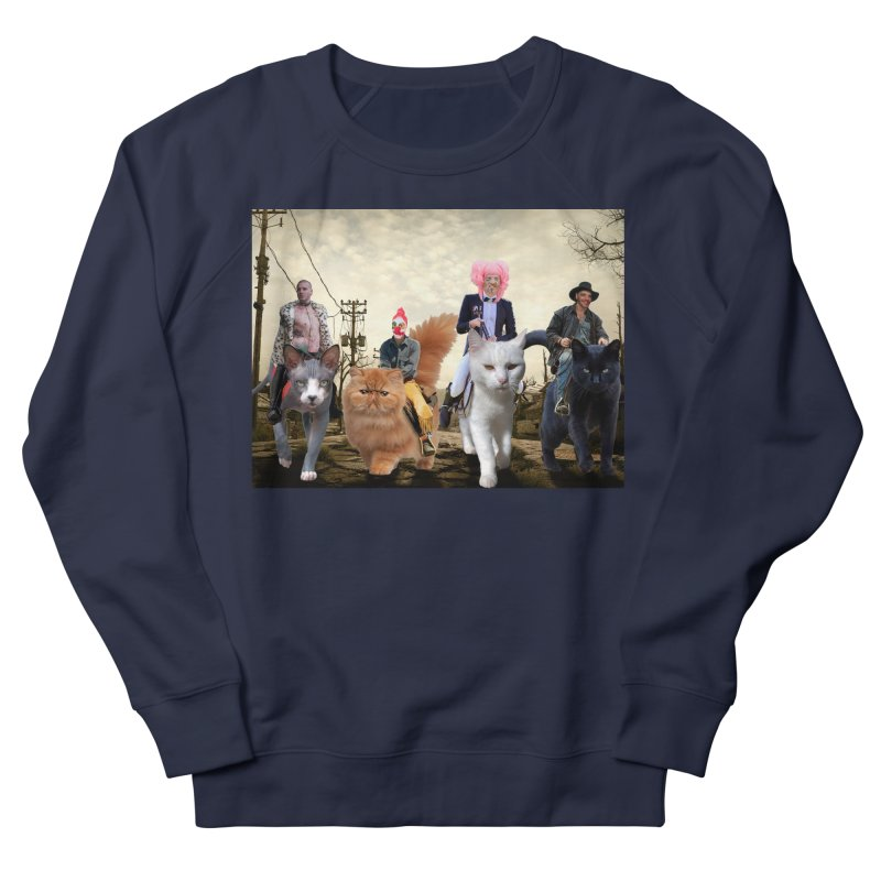 four catfreds of the apocalypse Women's French Terry Sweatshirt by FredRx's Artist Shop