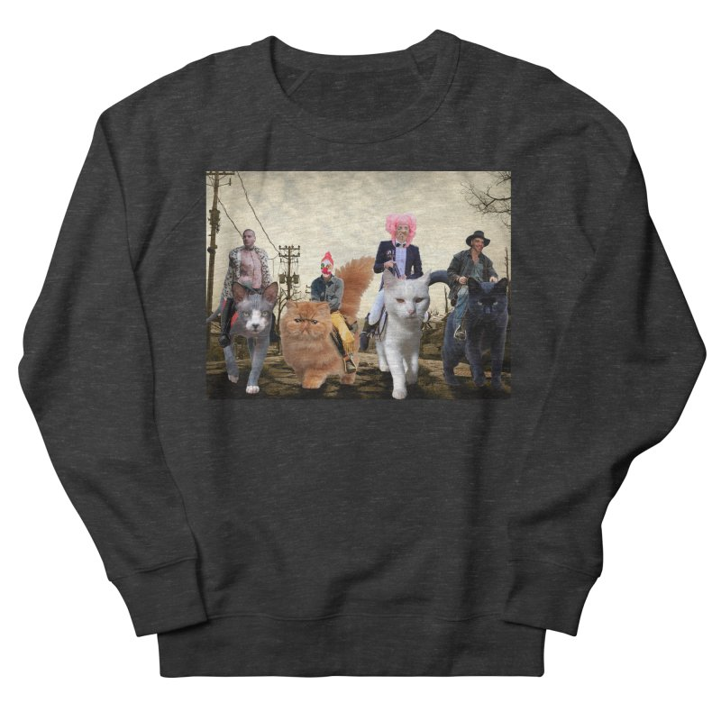 four catfreds of the apocalypse Men's French Terry Sweatshirt by FredRx's Artist Shop