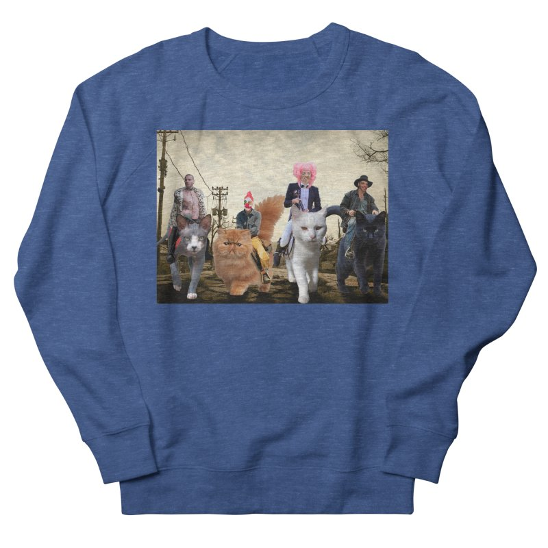 four catfreds of the apocalypse Men's Sweatshirt by FredRx's Artist Shop