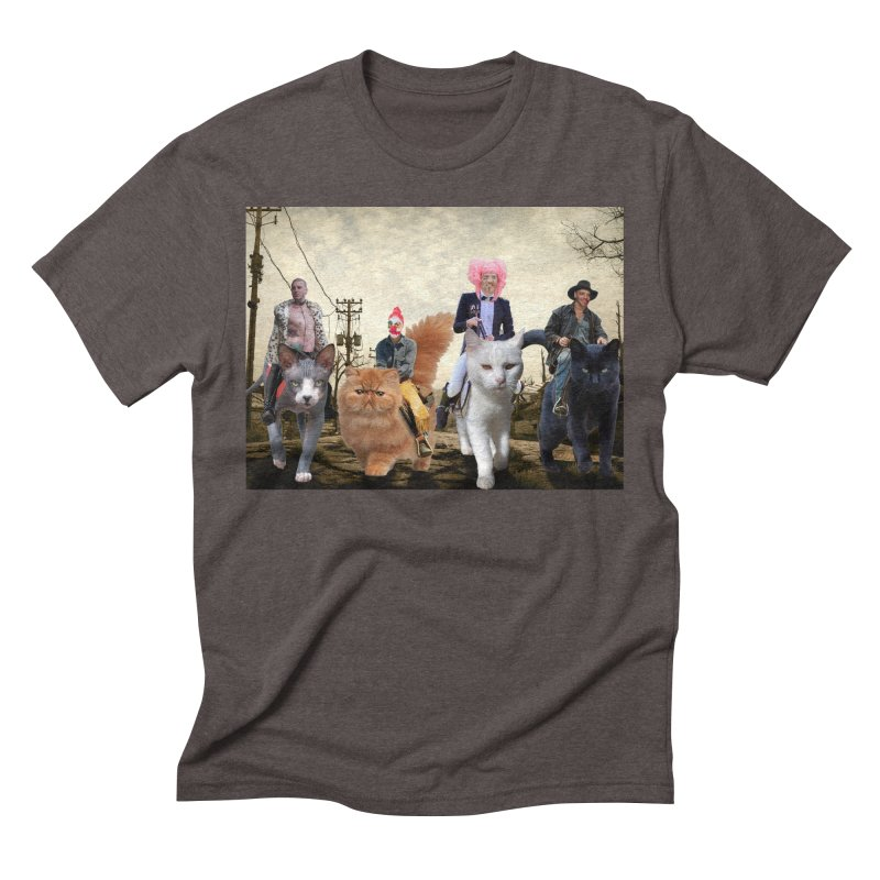 four catfreds of the apocalypse Men's Triblend T-Shirt by FredRx's Artist Shop