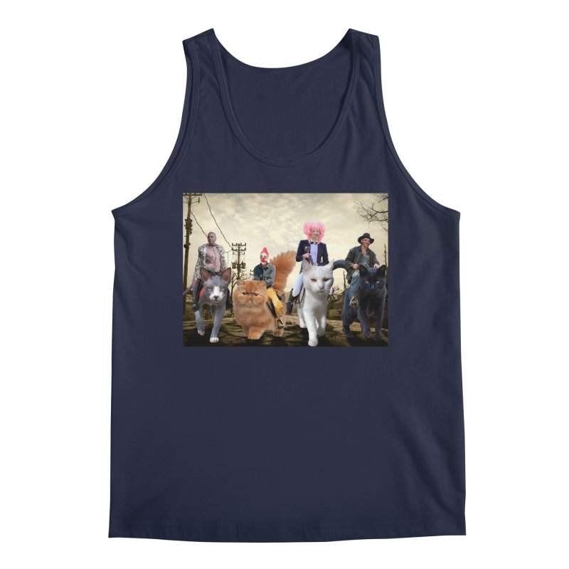 four catfreds of the apocalypse Men's Tank by FredRx's Artist Shop