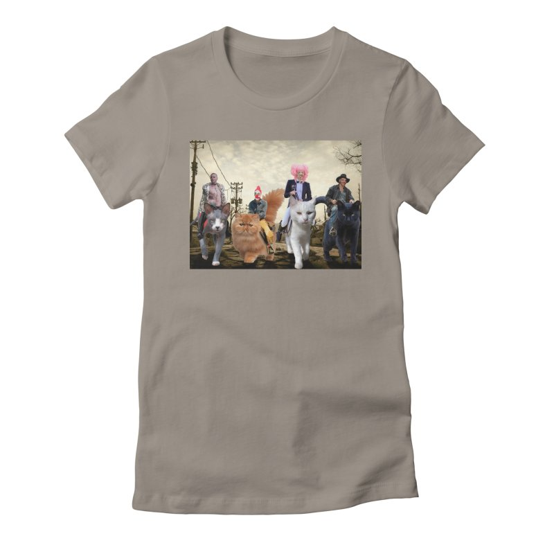 four catfreds of the apocalypse Women's T-Shirt by FredRx's Artist Shop