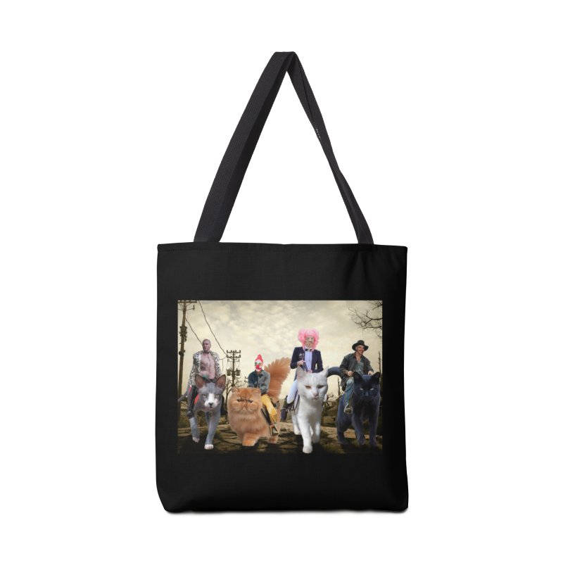 four catfreds of the apocalypse Accessories Tote Bag Bag by FredRx's Artist Shop