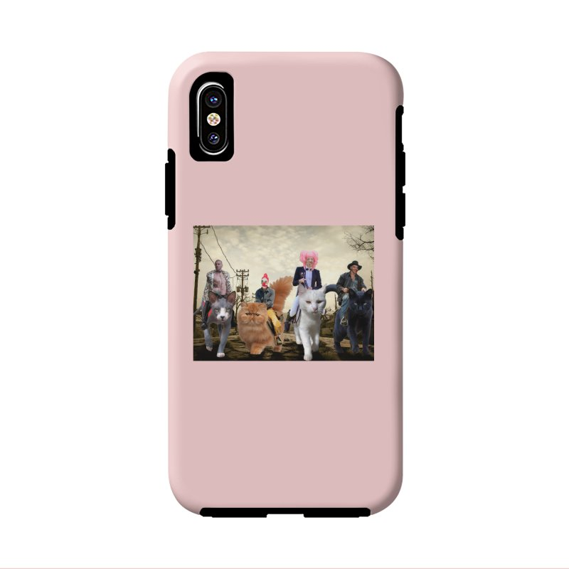 four catfreds of the apocalypse Accessories Phone Case by FredRx's Artist Shop