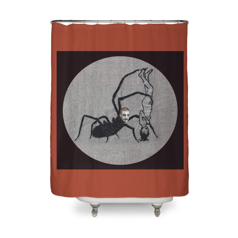 spider fred Home Shower Curtain by FredRx's Artist Shop