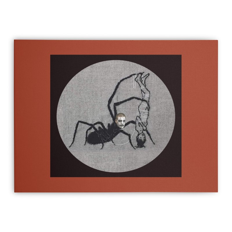 spider fred Home Stretched Canvas by FredRx's Artist Shop