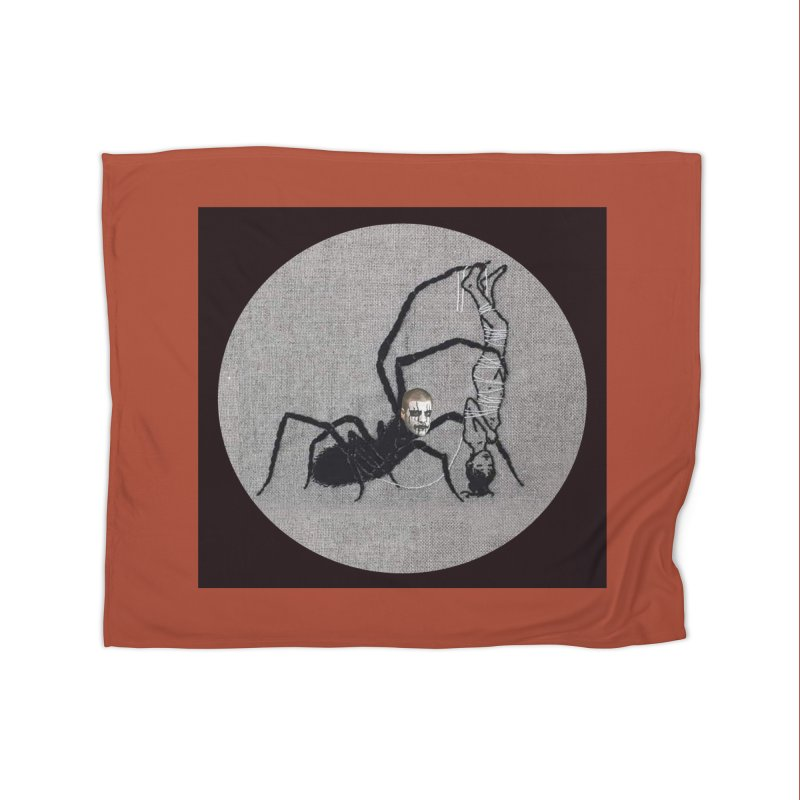spider fred Home Blanket by FredRx's Artist Shop