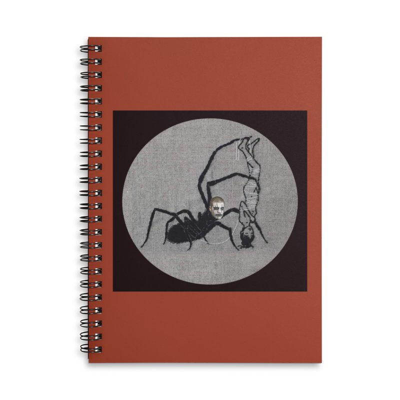 spider fred Accessories Lined Spiral Notebook by FredRx's Artist Shop