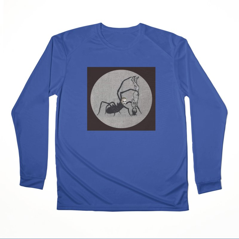 spider fred Men's Performance Longsleeve T-Shirt by FredRx's Artist Shop