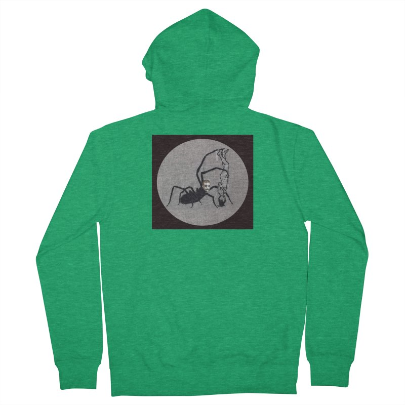 spider fred Men's Zip-Up Hoody by FredRx's Artist Shop