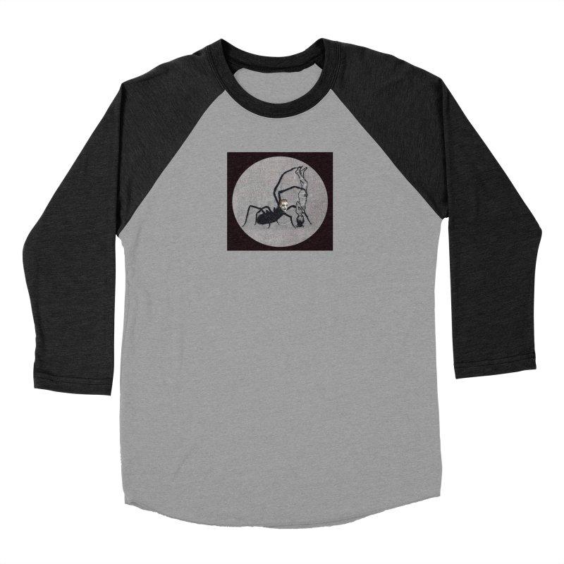 spider fred Men's Baseball Triblend Longsleeve T-Shirt by FredRx's Artist Shop