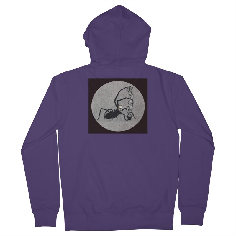 spider fred Women's French Terry Zip-Up Hoody by FredRx's Artist Shop
