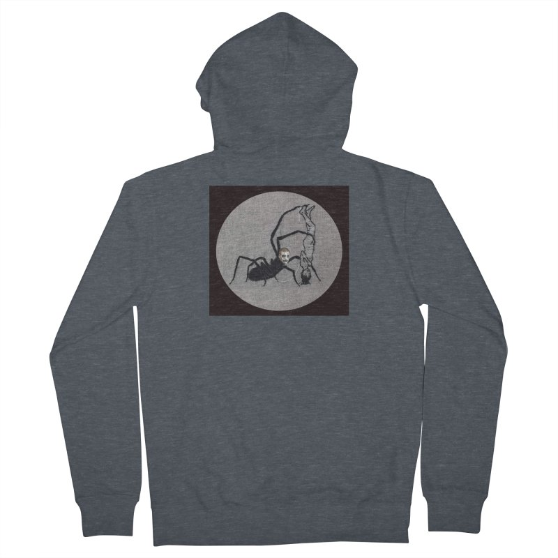 spider fred Men's French Terry Zip-Up Hoody by FredRx's Artist Shop