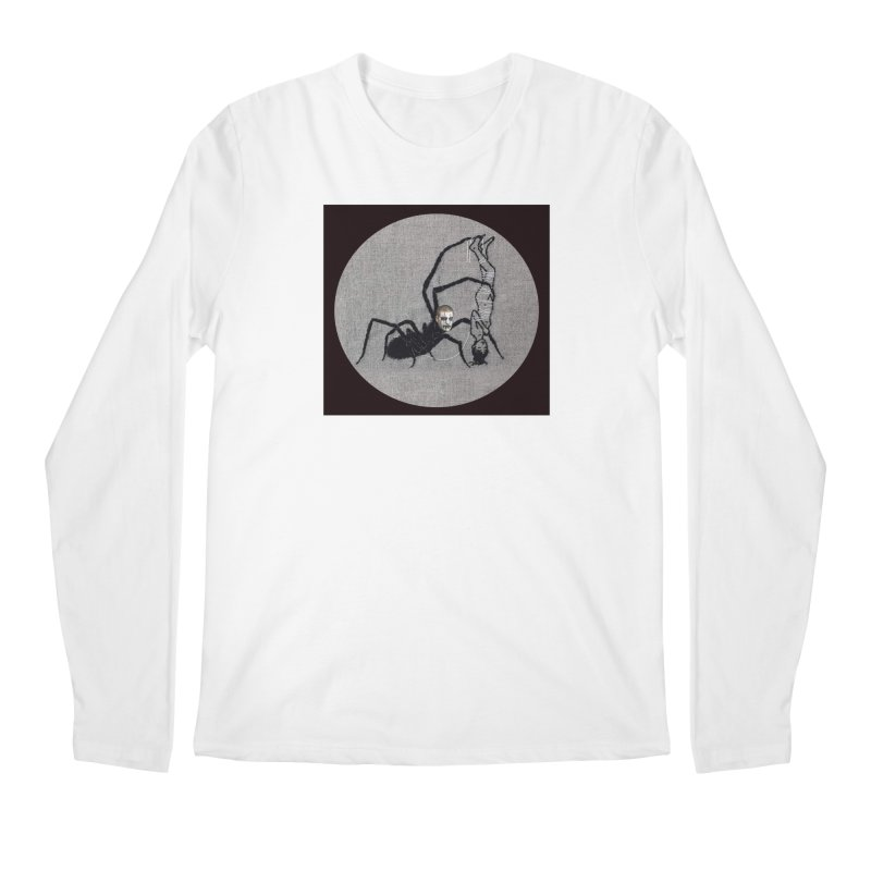 spider fred Men's Regular Longsleeve T-Shirt by FredRx's Artist Shop
