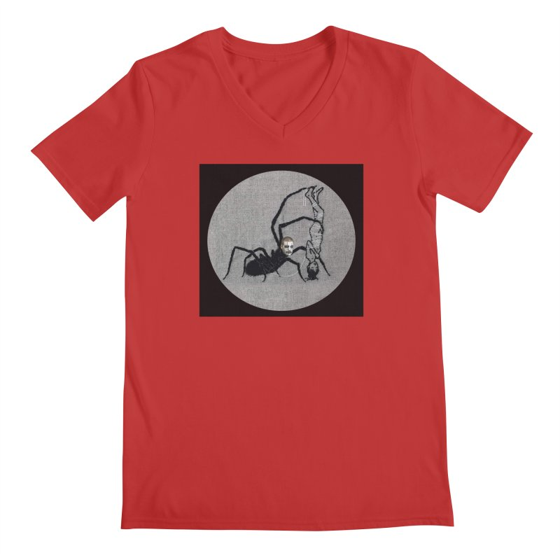 spider fred Men's V-Neck by FredRx's Artist Shop