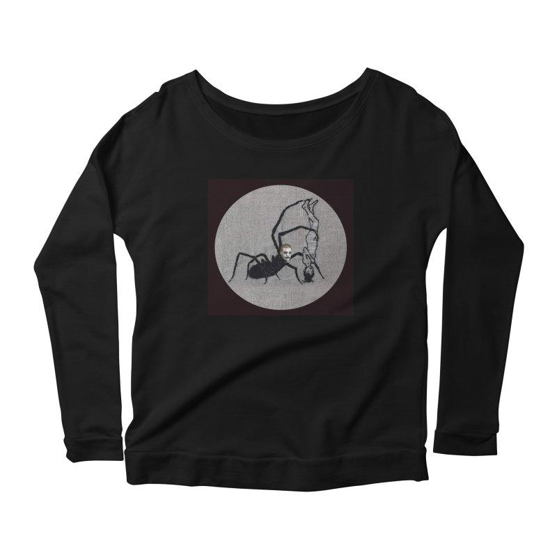 spider fred Women's Longsleeve T-Shirt by FredRx's Artist Shop
