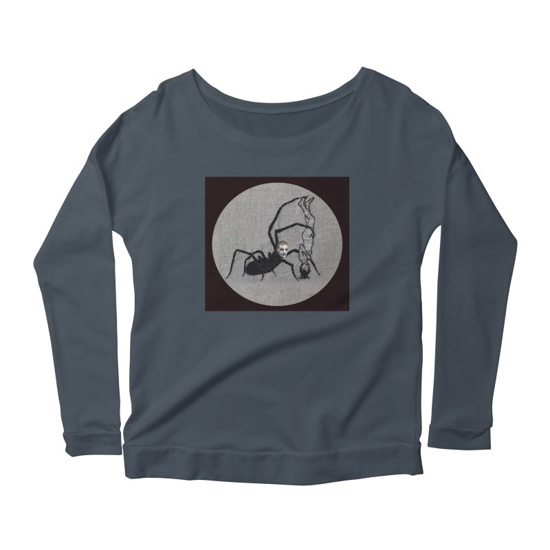 spider fred Women's Longsleeve T-Shirt by FredRx's Artist Shop