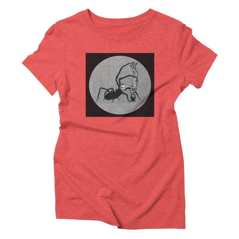 spider fred Women's Triblend T-Shirt by FredRx's Artist Shop