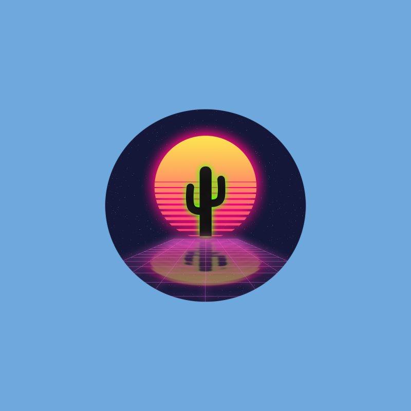 vaporwave cactus Women's Sweatshirt by FredRx's Artist Shop
