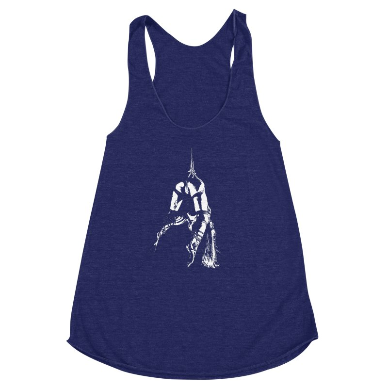 kinbaku crab suspension  Women's Racerback Triblend Tank by FredRx's Artist Shop