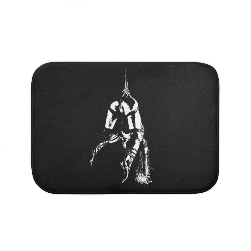 kinbaku crab suspension Home Bath Mat by FredRx's Artist Shop