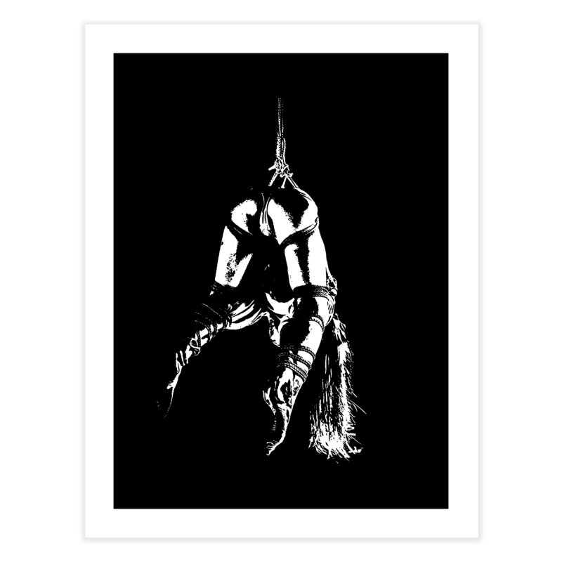kinbaku crab suspension Home Fine Art Print by FredRx's Artist Shop