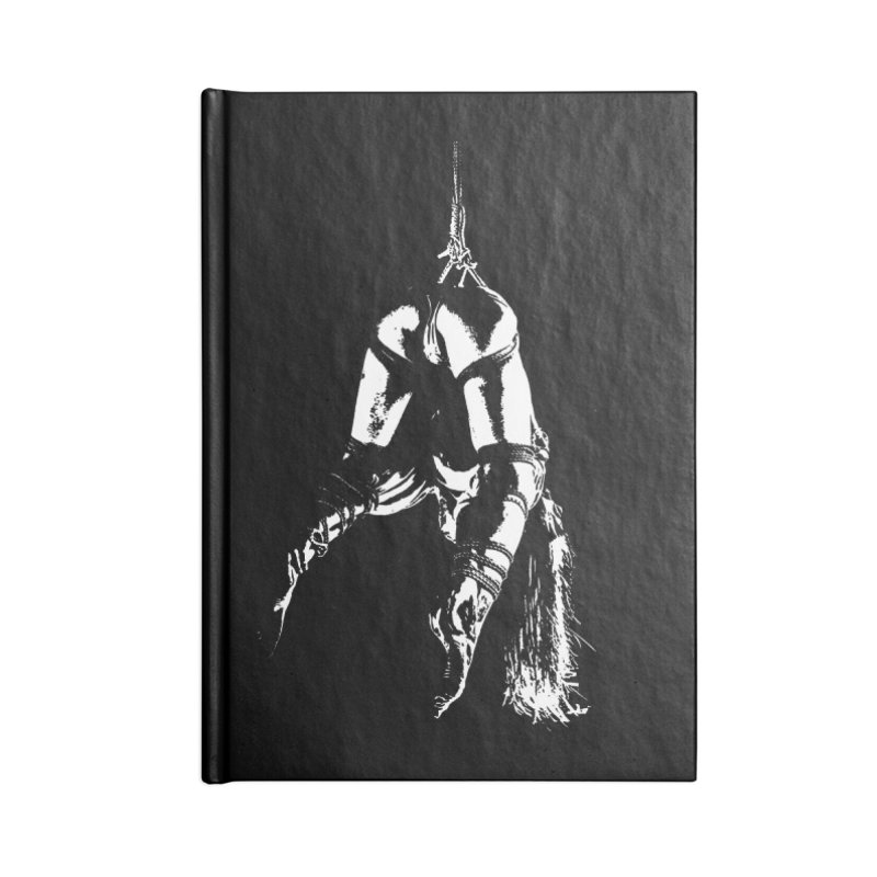 kinbaku crab suspension Accessories Blank Journal Notebook by FredRx's Artist Shop