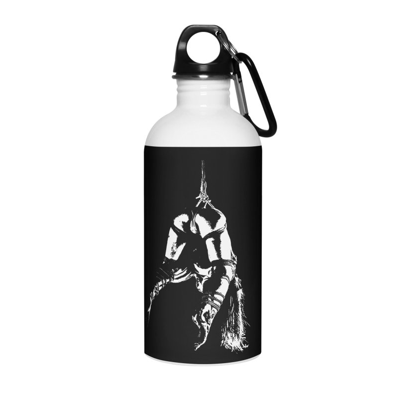 kinbaku crab suspension Accessories Water Bottle by FredRx's Artist Shop