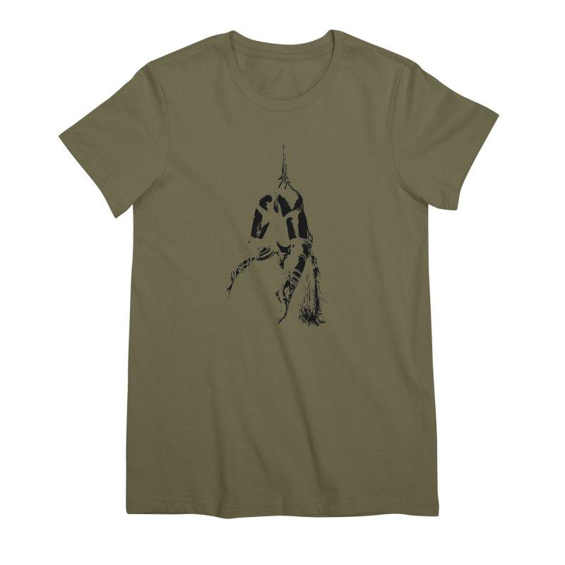kinbaku crab suspension Women's Premium T-Shirt by FredRx's Artist Shop