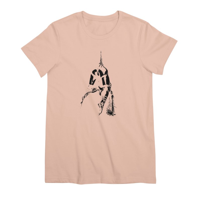 kinbaku crab suspension Women's Premium T-Shirt by FredRx's Artist Shop