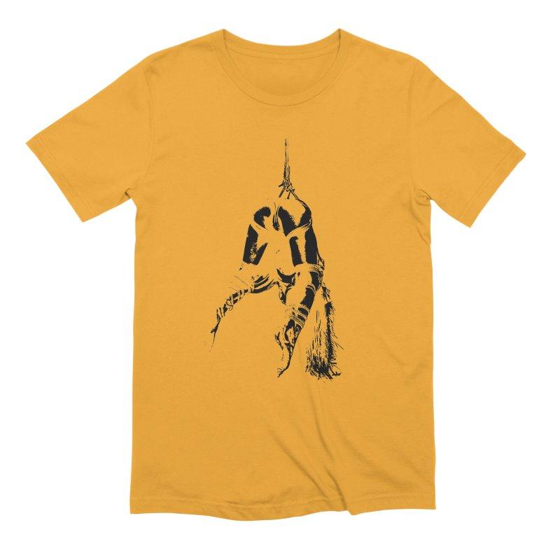 kinbaku crab suspension Men's Extra Soft T-Shirt by FredRx's Artist Shop