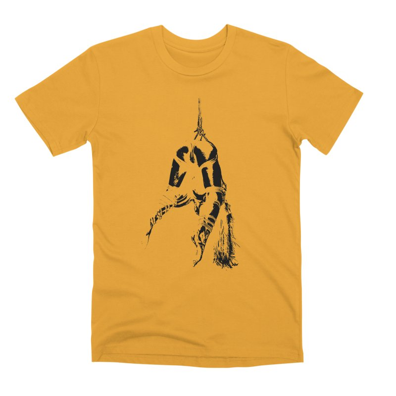 kinbaku crab suspension Men's Premium T-Shirt by FredRx's Artist Shop